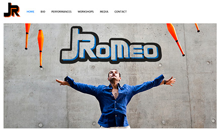 JUGGLER ROMEO - website on line