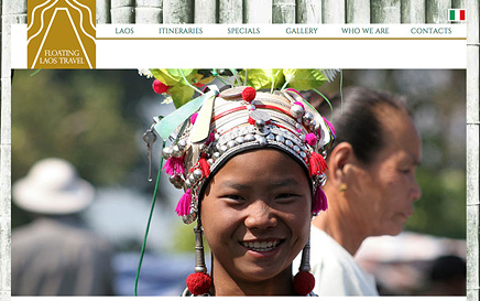 FLOATING LAOS TRAVEL - website on line